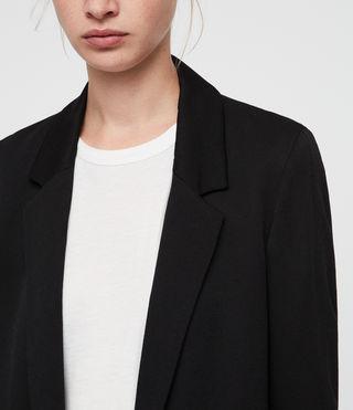 Womens Aleida Blazer (Black) - product_image_alt_text_2