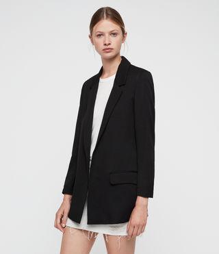 Womens Aleida Blazer (Black) - product_image_alt_text_3