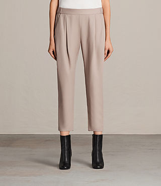 Mujer Aleida Trouser (Dusty Pink) - product_image_alt_text_1