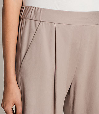 Mujer Aleida Trousers (Dusty Pink) - product_image_alt_text_2