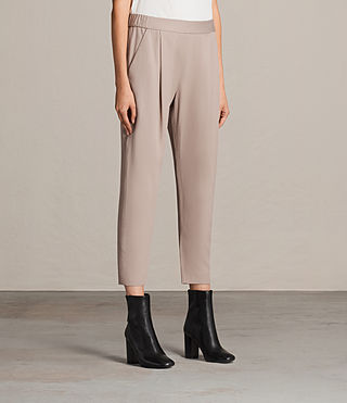 Mujer Aleida Trousers (Dusty Pink) - product_image_alt_text_4