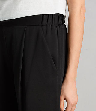 Women's Aleida Trousers (Black) - product_image_alt_text_2