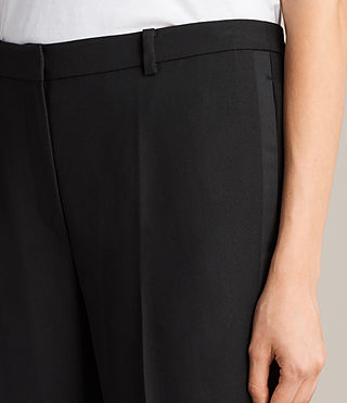 Mujer Selma Trouser (Black) - product_image_alt_text_2