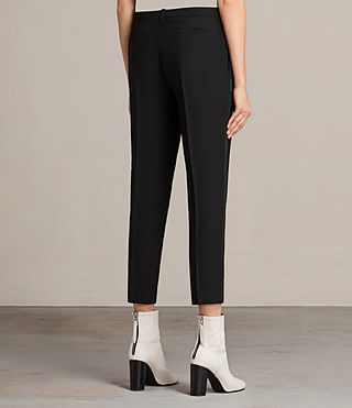 Mujer Selma Trouser (Black) - product_image_alt_text_3
