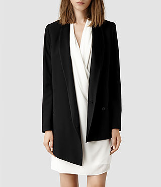 Womens Reya Blazer (Black)