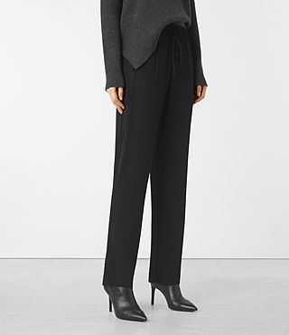 Women's Thula Trousers (Black)
