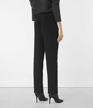 Mujer Thula Trousers (Black) - product_image_alt_text_3