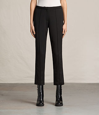 Damen Ilia Eryn Trousers (Black) -
