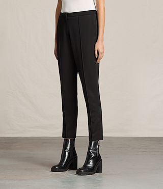 Donne Ilia Eryn Trousers (Black) - product_image_alt_text_3