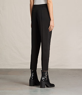 Donne Ilia Eryn Trousers (Black) - product_image_alt_text_4