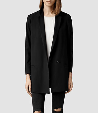 Womens Ettie Blazer (Black)