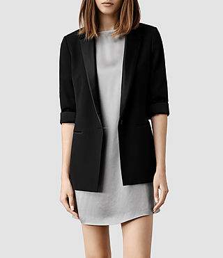 Womens Ryo Blazer (Black)