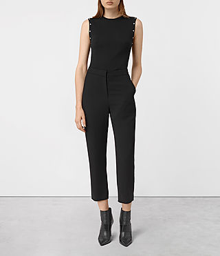Women's Roya Trousers (Black)