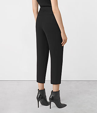 Mujer Roya Trousers (Black) - product_image_alt_text_3