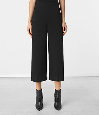 Women's Arya Trousers (Black)