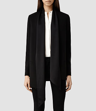 Womens Dala Blazer (Black)