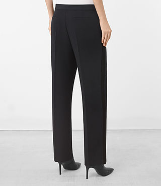 Damen Astara Trouser (Ink Blue) - product_image_alt_text_3