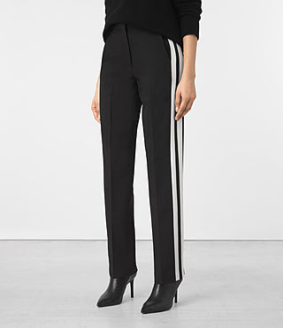 Women's Astara Trousers (Black) -