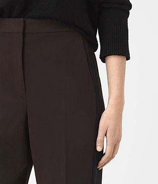 Damen Astara Trousers (Oxblood) - product_image_alt_text_3