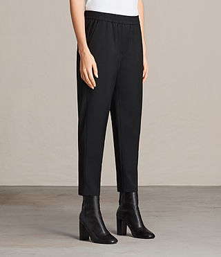 Mujer Kade Trouser (Black) - product_image_alt_text_3
