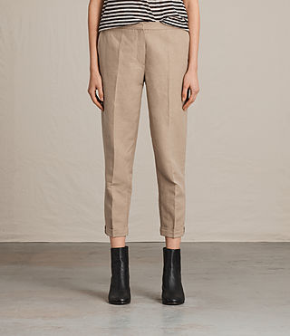 Mujer Pantalones Elma Light (SAND BROWN) -