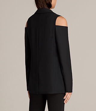 Mujer Nora Blazer (Black) - product_image_alt_text_4