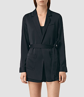 Women's Ivana Blazer (Ink Blue)