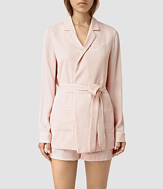 Womens Ivana Blazer (GHOST PINK) - product_image_alt_text_1