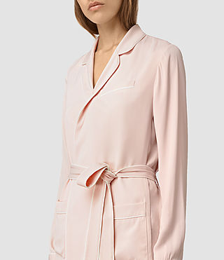 Women's Ivana Blazer (GHOST PINK) - product_image_alt_text_2