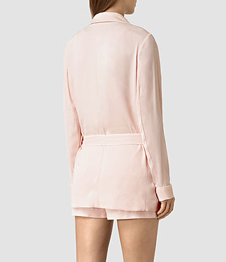 Women's Ivana Blazer (GHOST PINK) - product_image_alt_text_4
