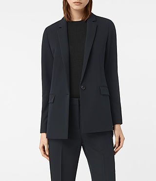 Womens Asta Blazer (Ink Blue)