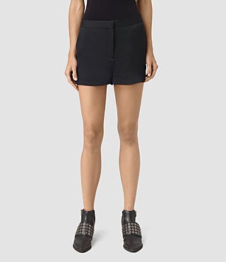 Damen Ivana Shorts (Ink Blue) - product_image_alt_text_2