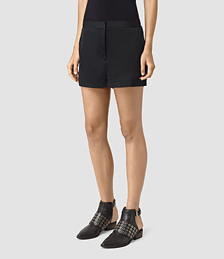 Damen Ivana Shorts (Ink Blue) - product_image_alt_text_3
