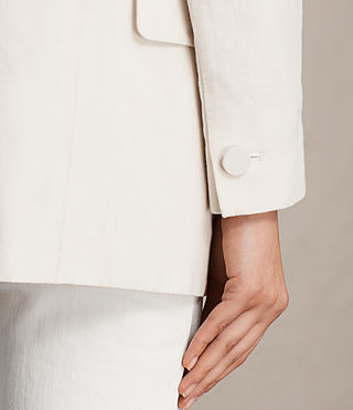 Womens Alice Blazer (CERAMIC WHITE) - product_image_alt_text_3