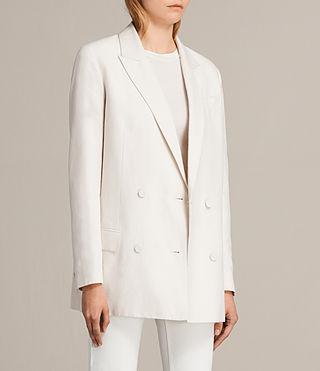 Womens Alice Blazer (CERAMIC WHITE) - product_image_alt_text_4