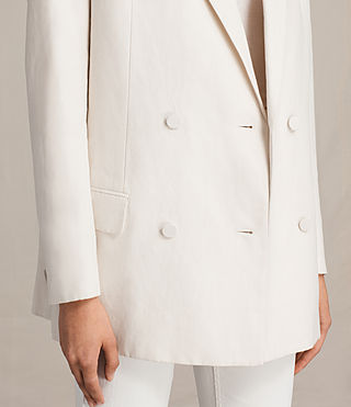 Womens Alice Blazer (CERAMIC WHITE) - product_image_alt_text_5