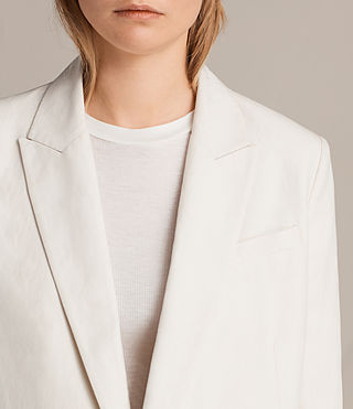 Womens Alice Blazer (CERAMIC WHITE) - product_image_alt_text_6