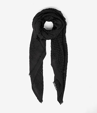 Womens Gard Scarf (Black)