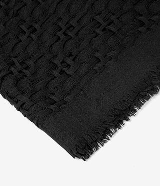 Womens Gard Scarf (Black) - product_image_alt_text_3
