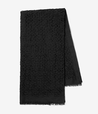 Womens Gard Scarf (Black) - product_image_alt_text_4
