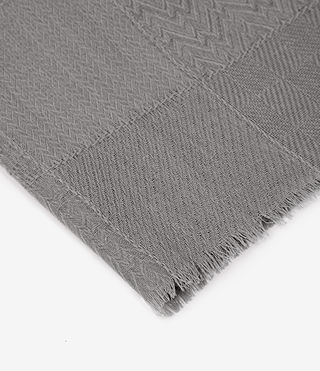 Womens Eure Scarf (Stone Grey) - product_image_alt_text_3