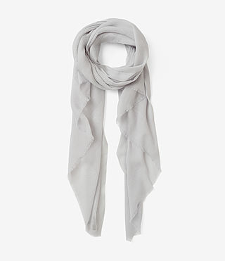 Womens Eure Scarf (PORCELAIN WHITE)
