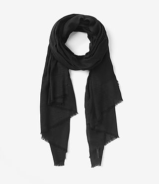 Women's Eure Scarf (Black)