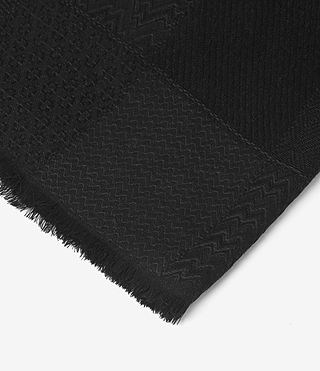 Womens Eure Scarf (Black) - product_image_alt_text_3