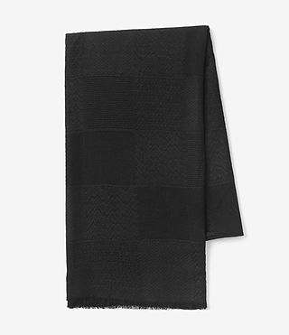 Womens Eure Scarf (Black) - product_image_alt_text_4