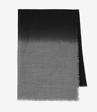 Mujer Loire Scarf (CINDER BLK DEGRADE) - product_image_alt_text_4