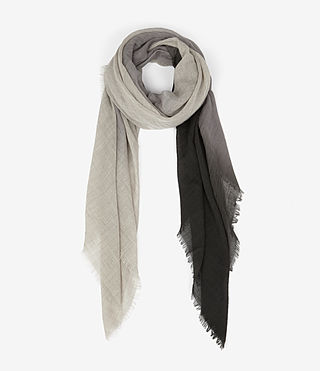 Womens Loire Scarf (GREY DEGRADE)