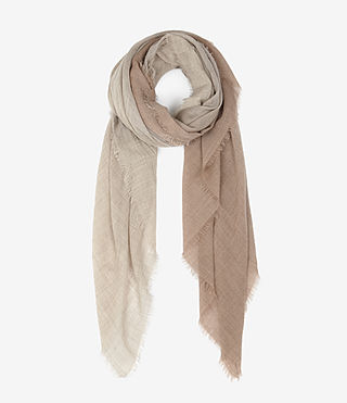 Womens Loire Scarf (PINK DEGRADE)