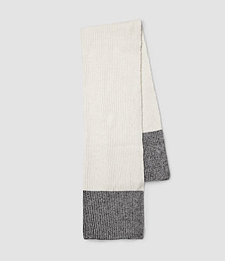 Womens Keeble Scarf (Chalk)