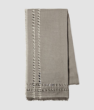Femmes Spine Scarf (Fawn Brown Marl) - product_image_alt_text_3